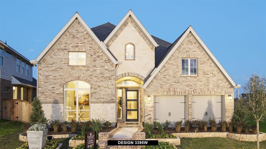 Model Home Design 3395W Exterior