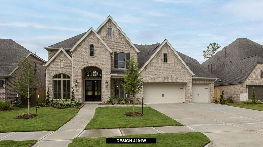 New Home Design, 4,191 sq. ft., 5 bed / 4.5 bath, 3-car garage