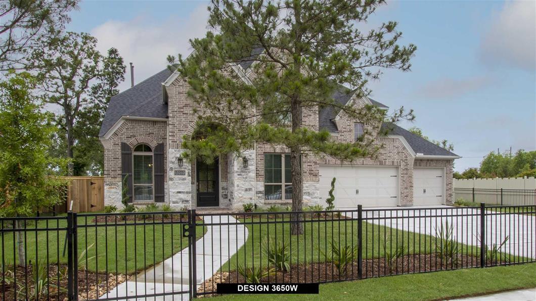 New Home Design, 3,904 sq. ft., 5 bed / 5.5 bath, 4-car garage