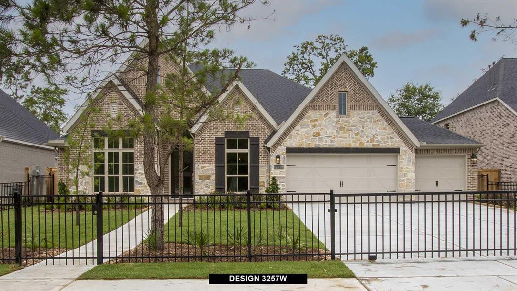 New Home Design, 3,257 sq. ft., 4 bed / 3.5 bath, 4-car garage