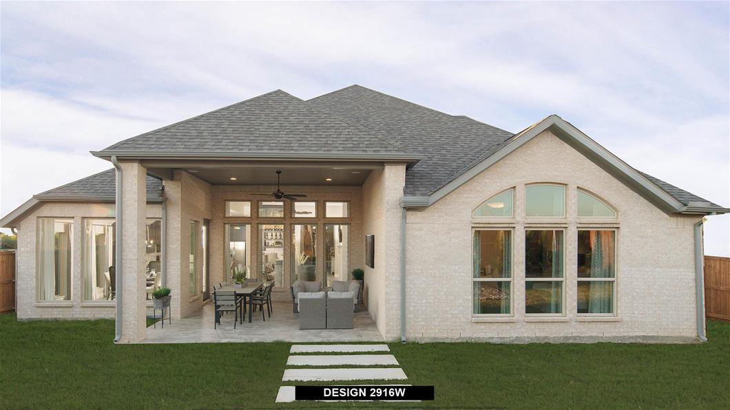 Model Home Design 2916W Interior