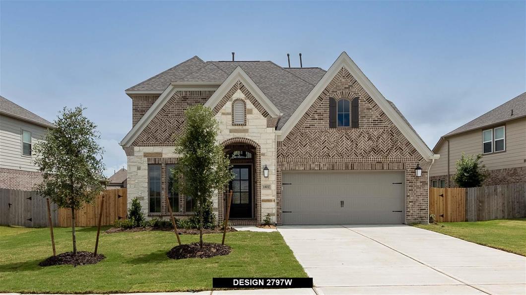 New Home Design, 2,797 sq. ft., 4 bed / 3.5 bath, 2-car garage