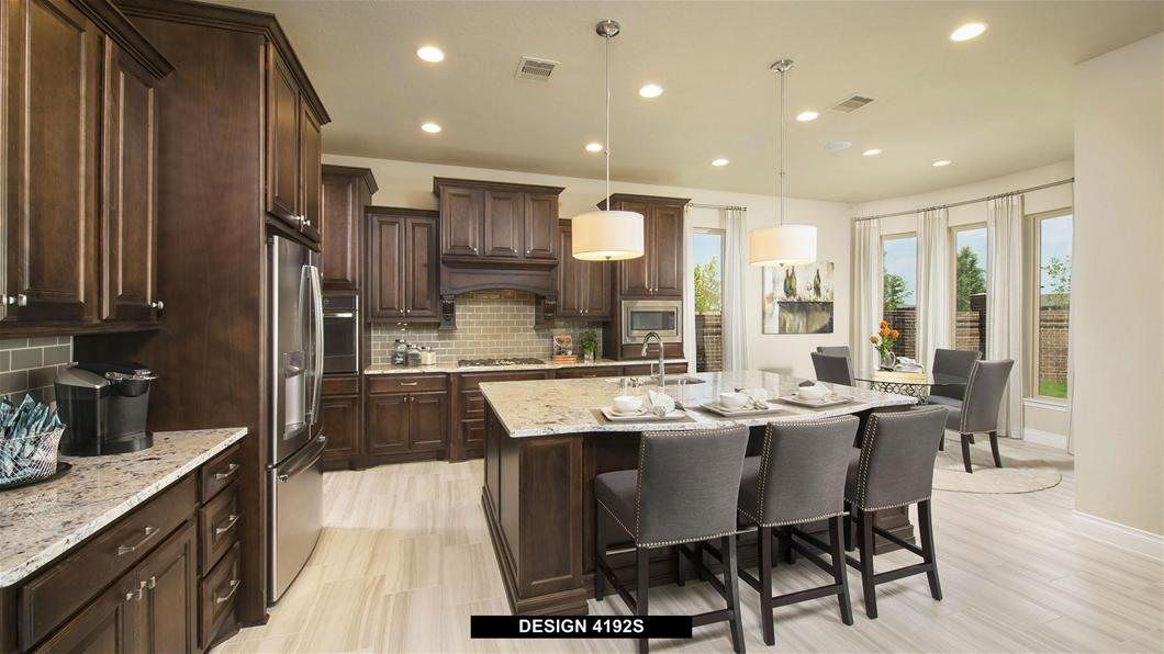 Model Home Design 4192S Interior