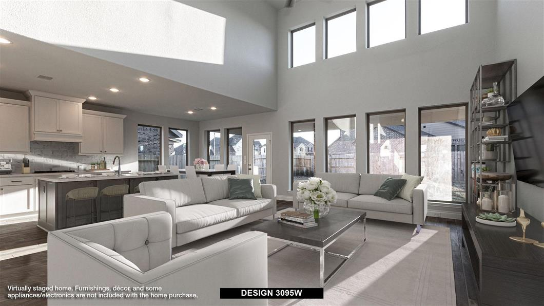 Design 3095W-E70 1822 opal field lane