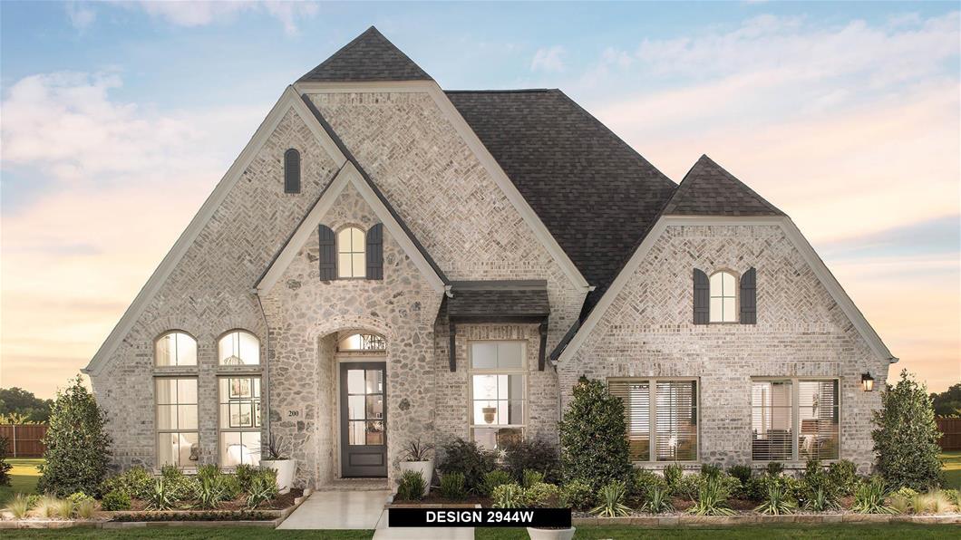 Model Home Design 2944W Exterior