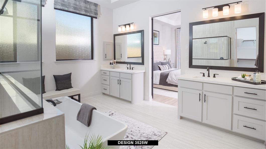Model Home Design 3525W Interior