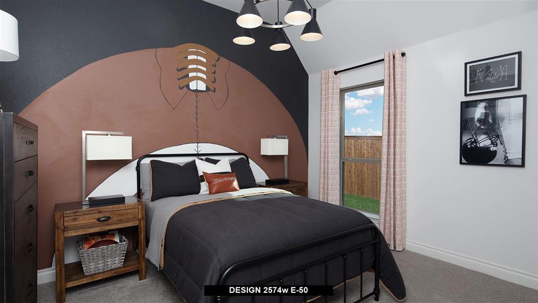 Model Home Design 2574W Interior