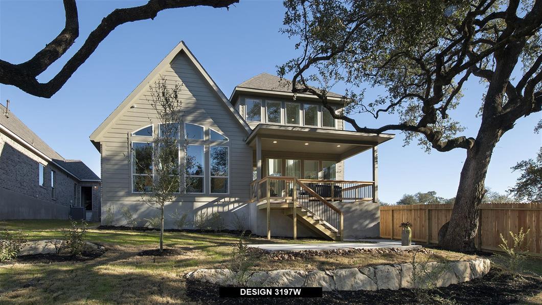 Model Home Design 3197W Interior