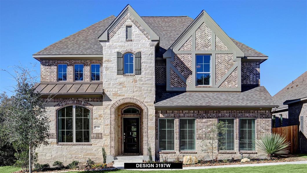 Model Home Design 3197W Exterior