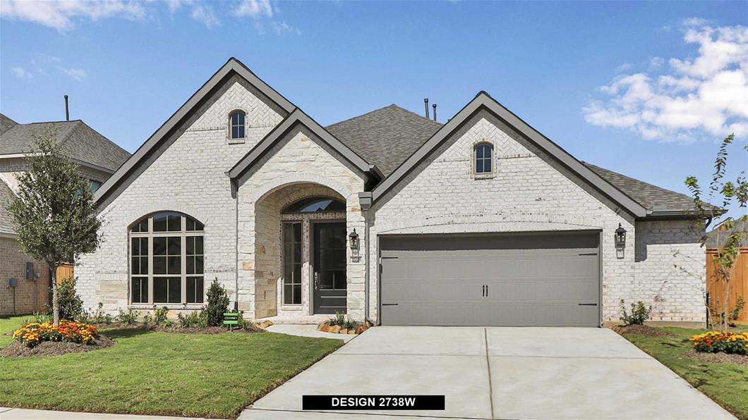 New Home Design, 2,738 sq. ft., 4 bed / 3.5 bath, 2-car garage