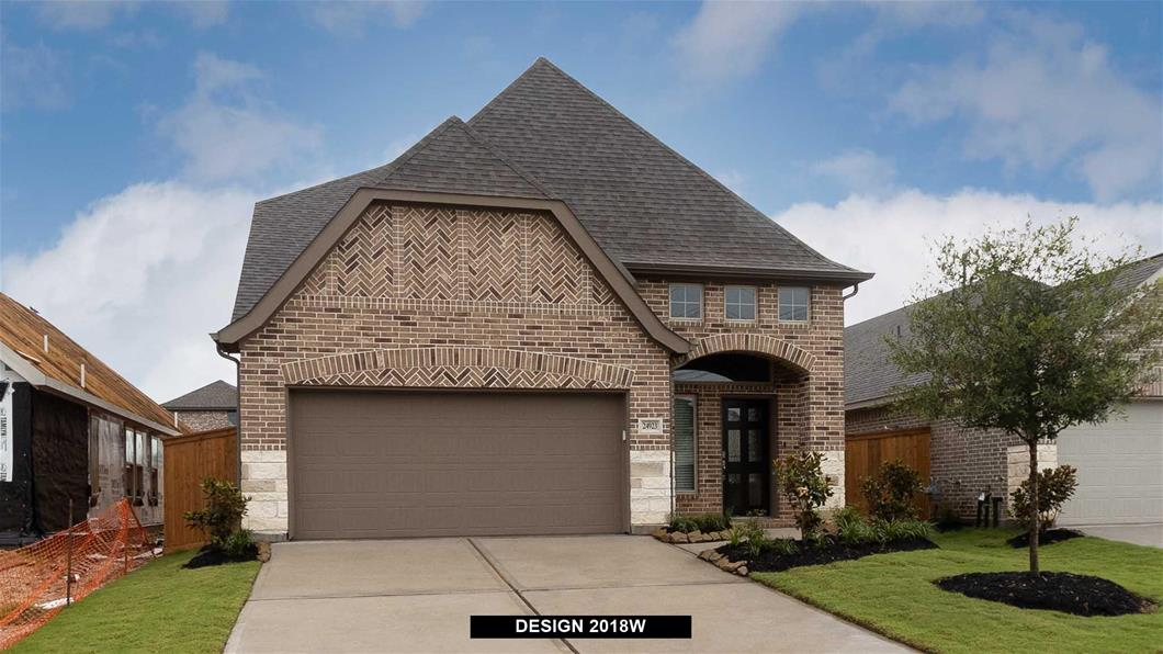 New Home Design, 2,189 sq. ft., 4 bed / 3.5 bath, 2-car garage