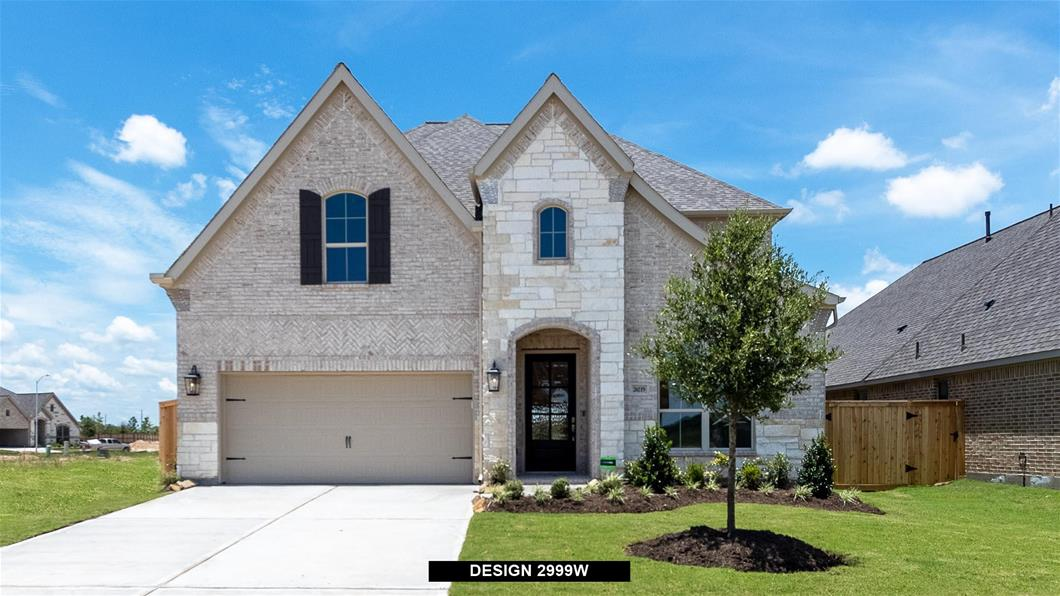 New Home Design, 3,048 sq. ft., 5 bed / 4.5 bath, 3-car garage