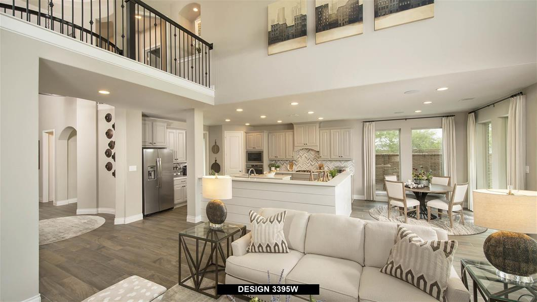Model Home Design 3395W Interior