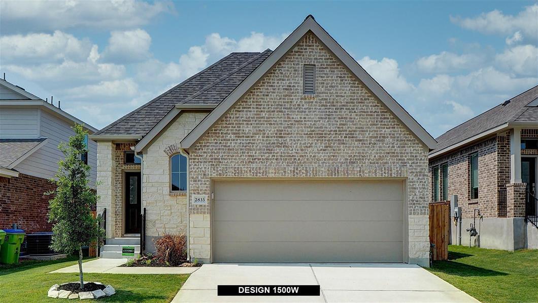 New Home Design, 1,500 sq. ft., 3 bed / 2.0 bath, 2-car garage