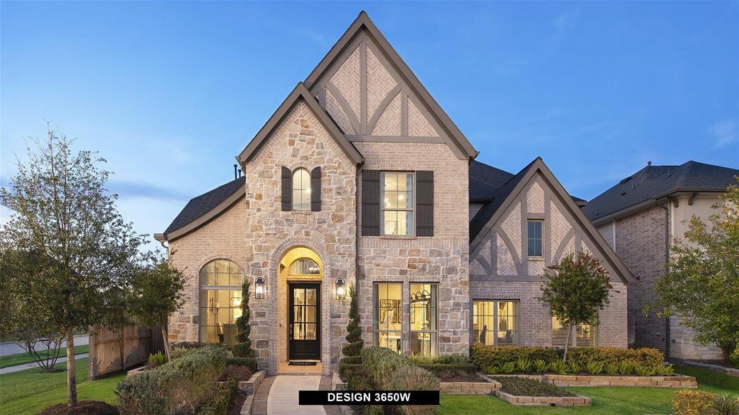 Model Home Design 3650W Exterior
