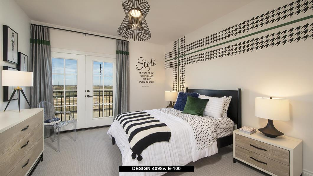 Model Home Design 4098W Interior
