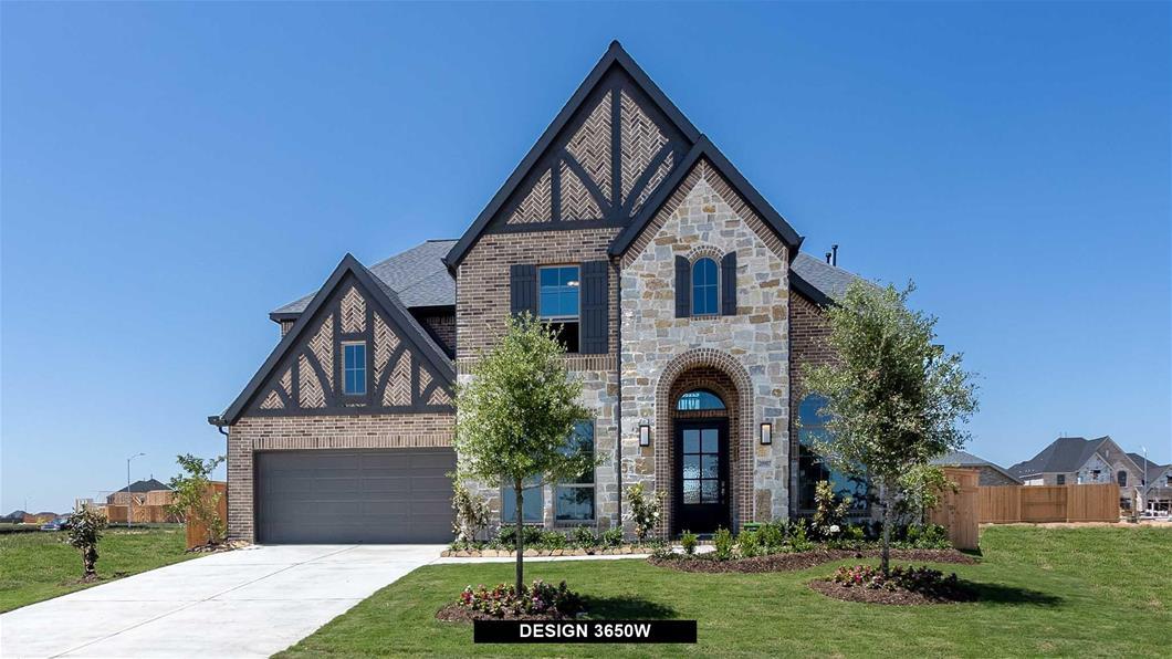 New Home Design, 3,650 sq. ft., 4 bed / 4.5 bath, 3-car garage