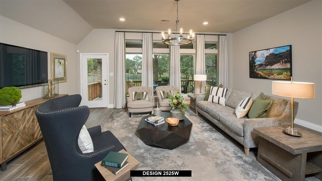 Model Home Design 2525W Interior