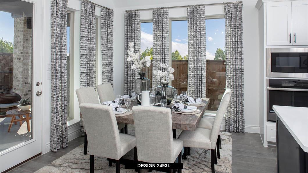 Model Home Design 2493L Interior