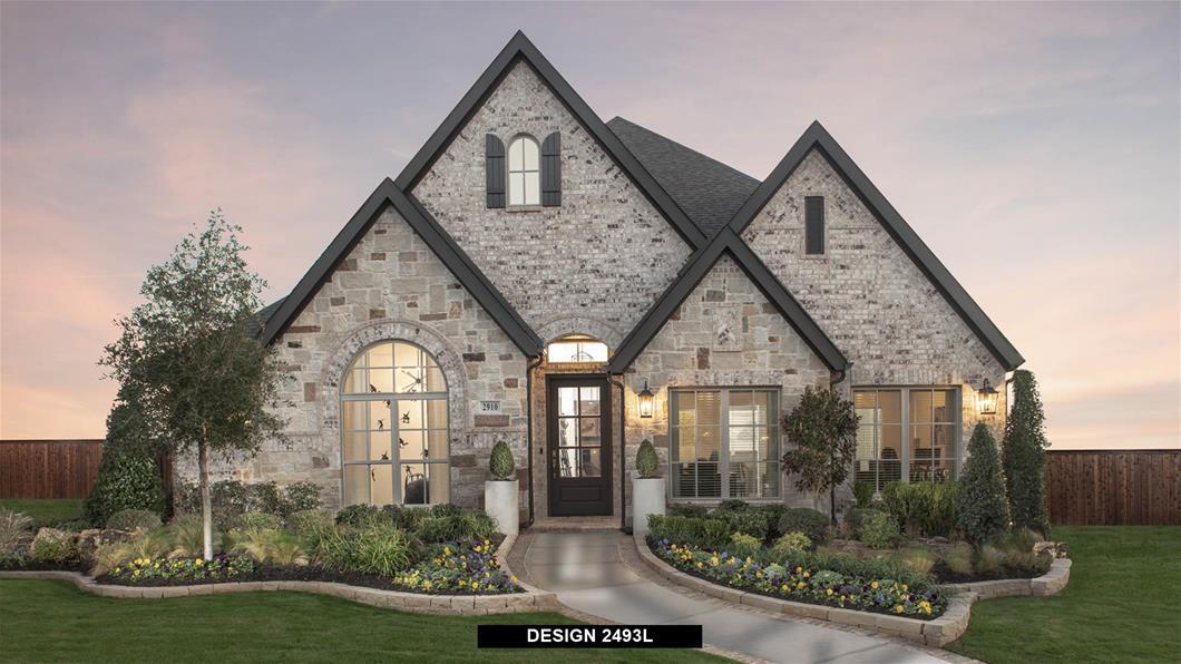 Model Home Design 2493L Exterior