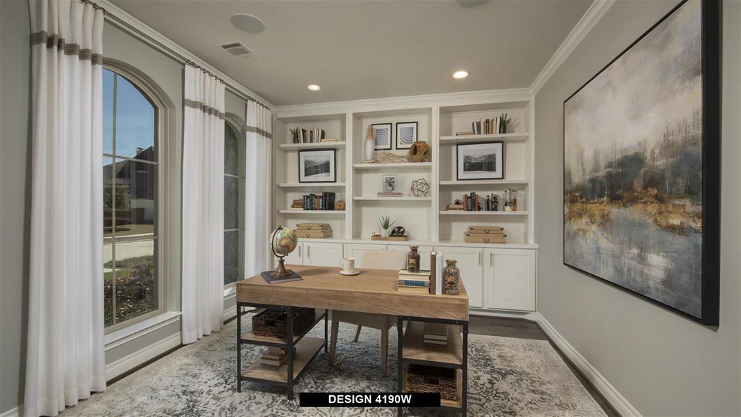 Model Home Design 4190W Interior