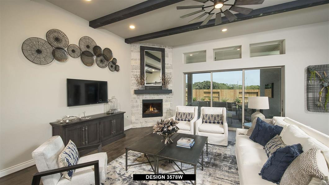 Model Home Design 3578W Interior