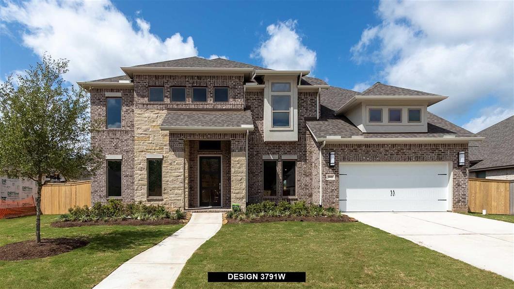 New Home Design, 3,791 sq. ft., 5 bed / 4.5 bath, 3-car garage