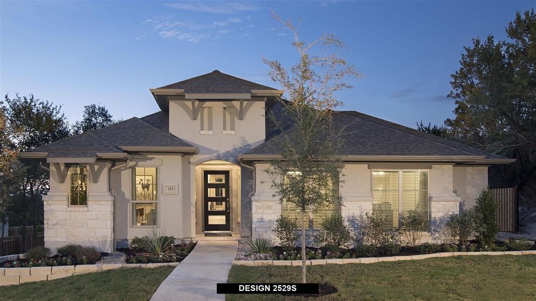 Model Home Design 2529S Exterior