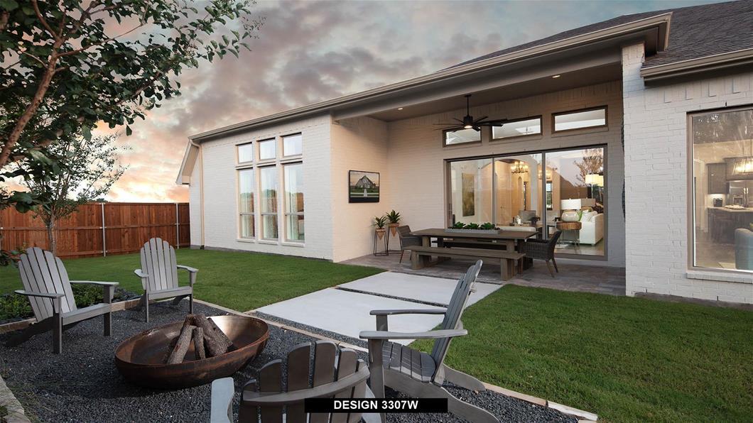 Model Home Design 3307W Interior