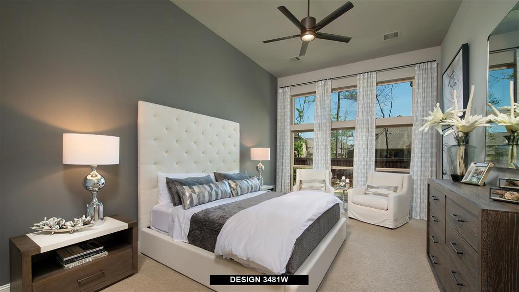 Model Home Design 3481W Interior