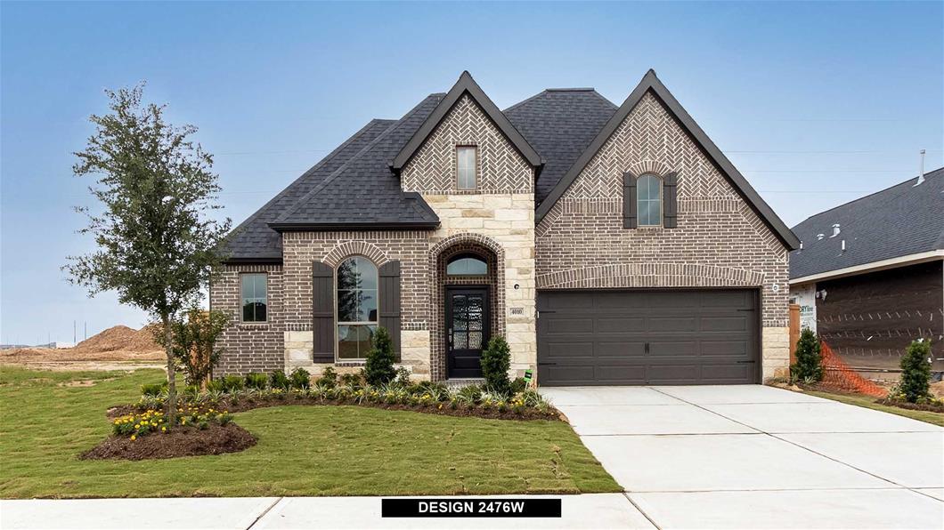 New Home Design, 2,476 sq. ft., 4 bed / 3.0 bath, 3-car garage