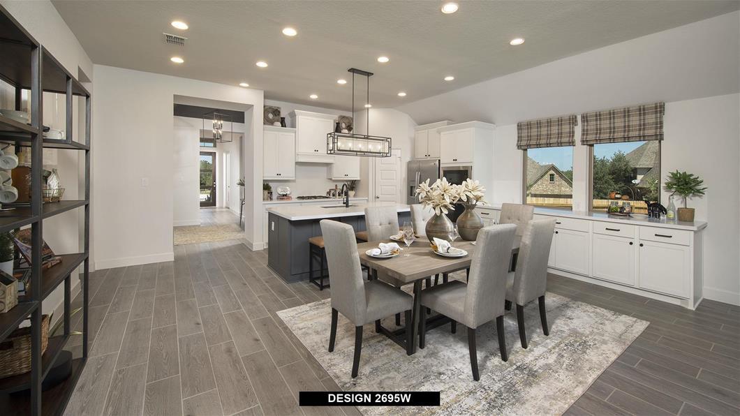 Model Home Design 2695W Interior