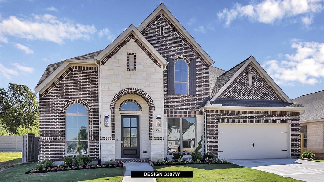 New Home Design, 3,397 sq. ft., 5 bed / 4.0 bath, 3-car garage