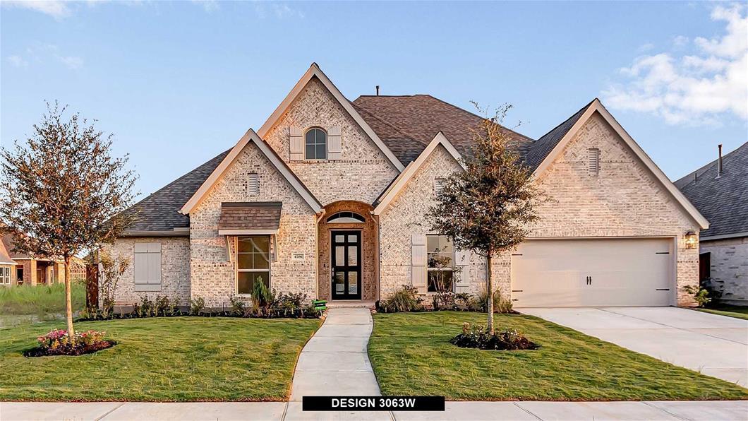New Home Design, 3,063 sq. ft., 4 bed / 3.5 bath, 3-car garage