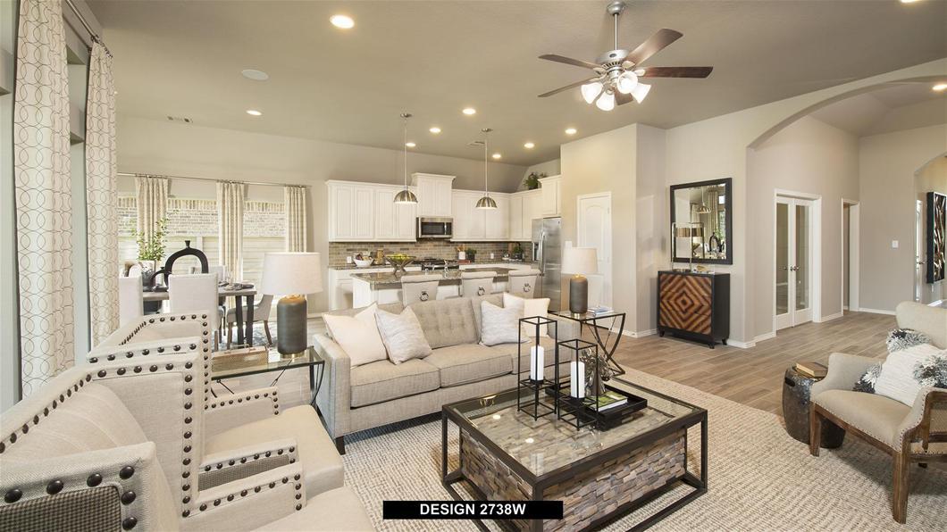Model Home Design 2738W Interior