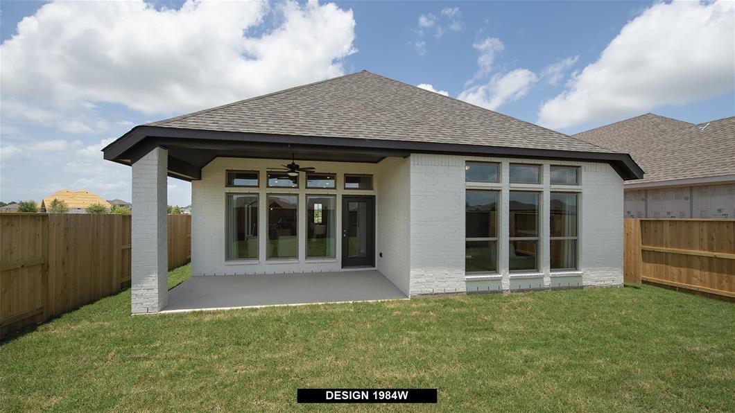 Model Home Design 1984W Interior