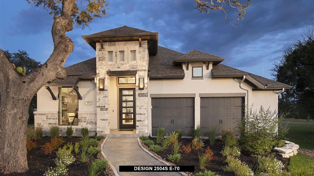 Model Home Design 2504S Exterior