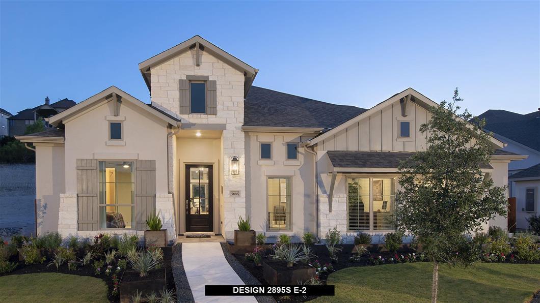 Model Home Design 2895S Exterior