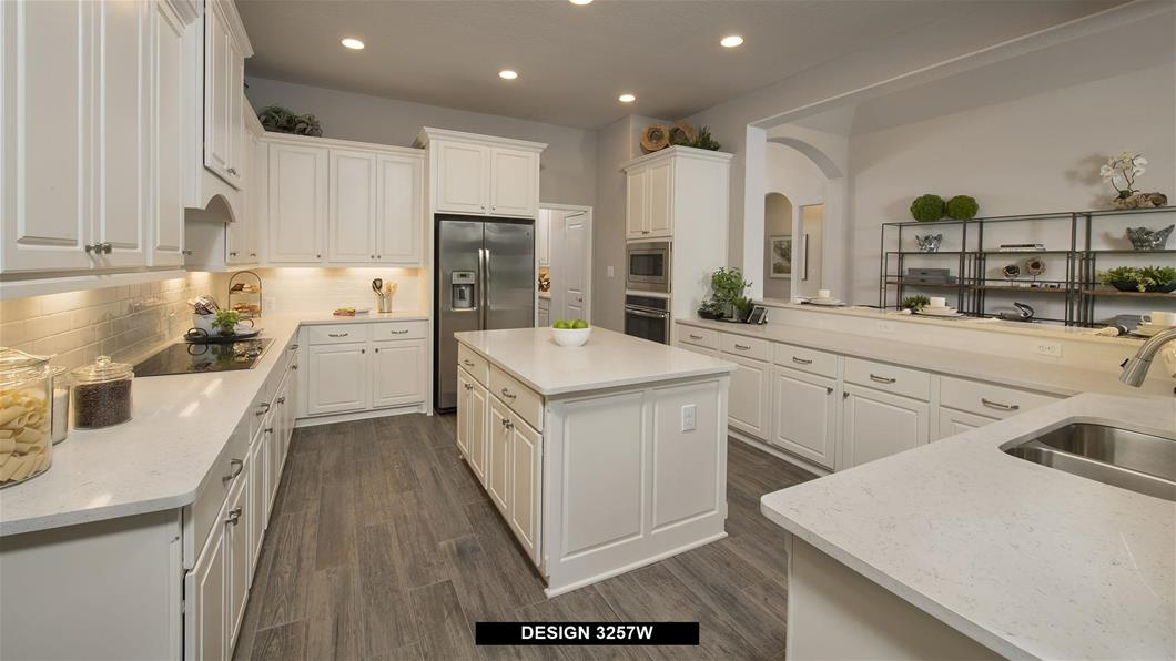 Model Home Design 3257W Interior