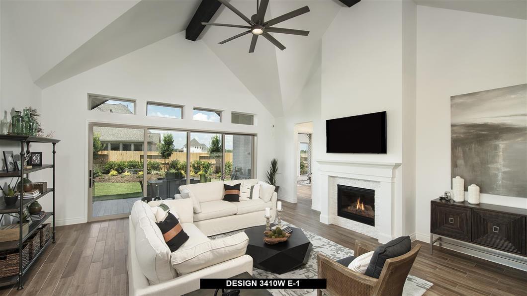 Model Home Design 3410W Interior