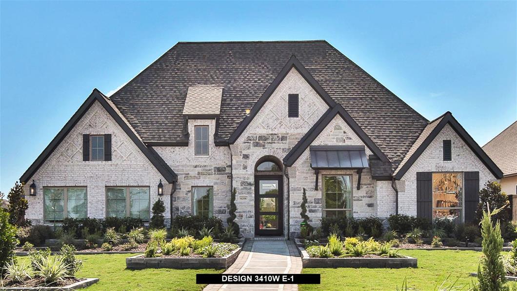Model Home Design 3410W Exterior