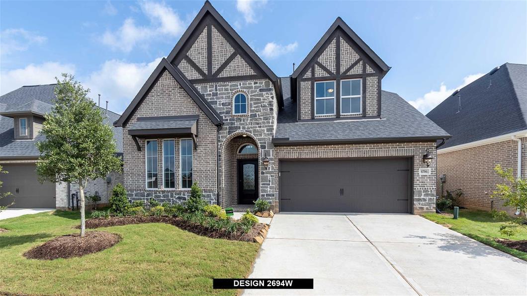 New Home Design, 2,973 sq. ft., 5 bed / 4.0 bath, 2-car garage