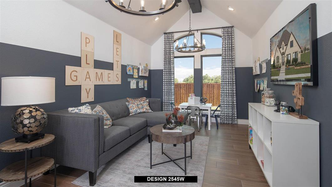 Model Home Design 2545W Interior