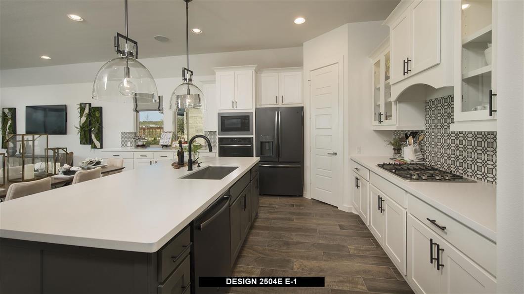 Model Home Design 2504E Interior