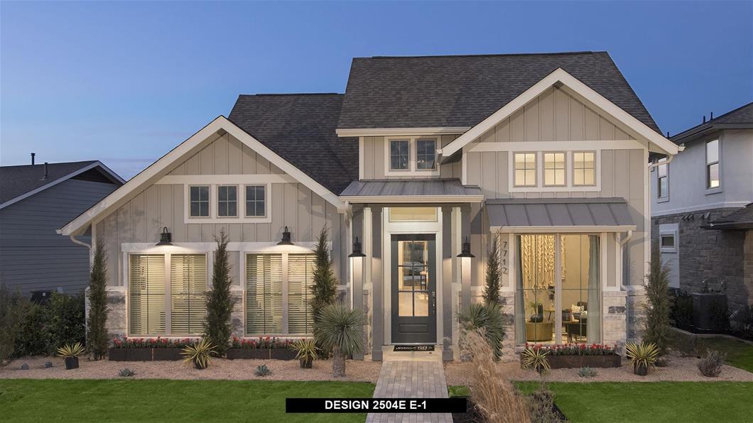 Model Home Design 2504E Exterior