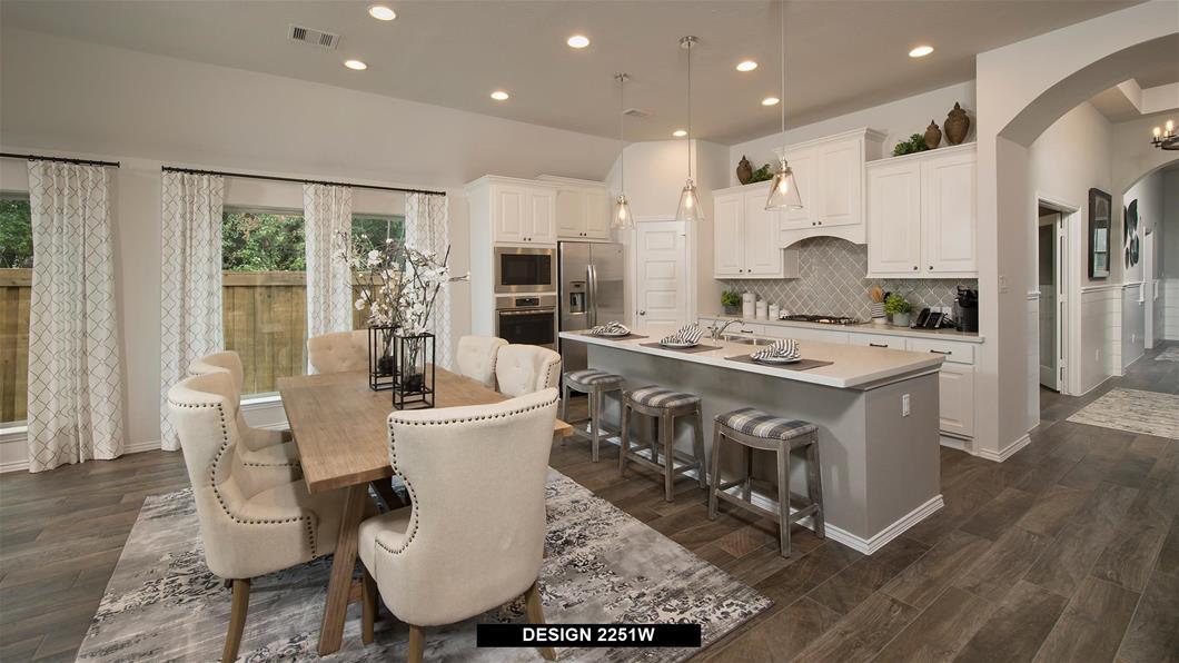 Model Home Design 2251W Interior