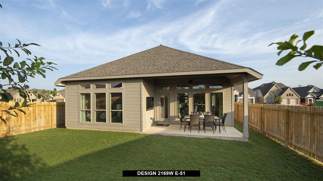 Model Home Design 2169W Interior