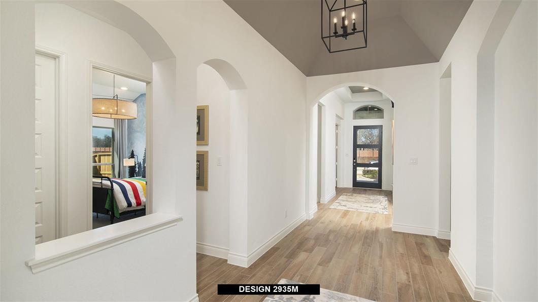 Model Home Design 2935M Interior