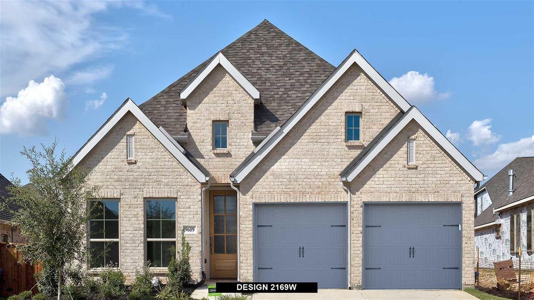 New Home Design, 2,169 sq. ft., 4 bed / 3.0 bath, 2-car garage