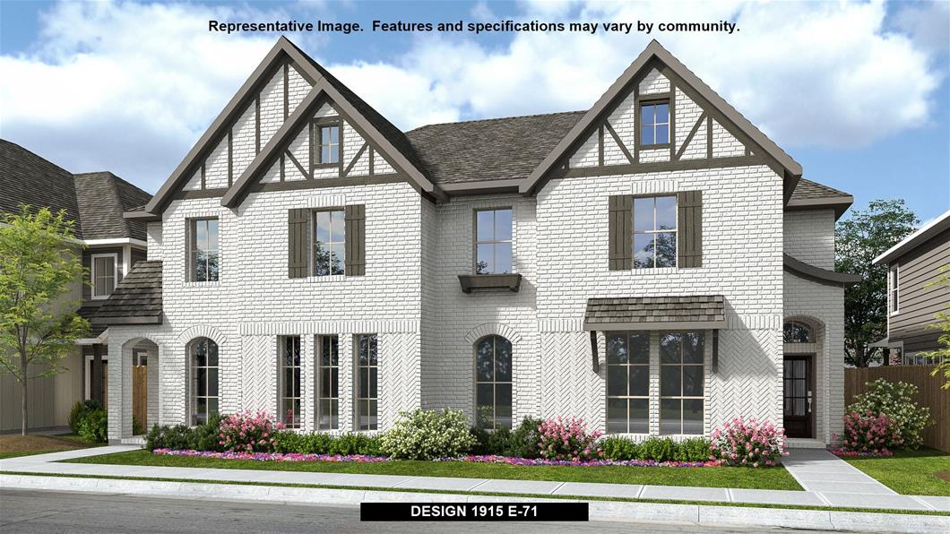 New Home Design, 1,915 sq. ft., 3 bed / 2.5 bath, 2-car garage